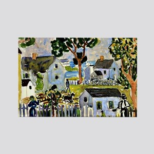 Prendergast - Rockport Rectangle Magnet