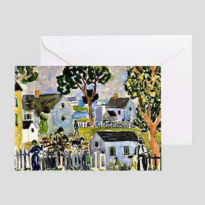 Prendergast - Rockport Greeting Card