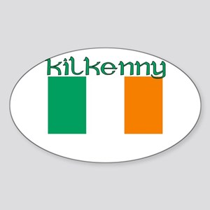 Kilkenny, Ireland (Dark) Oval Sticker