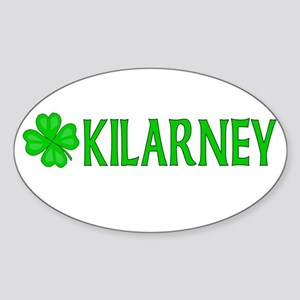 Kilarney, Ireland Oval Sticker