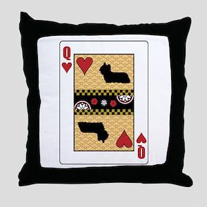 Queen Skye Throw Pillow