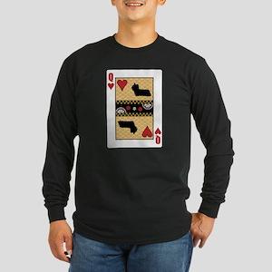 Queen Skye Long Sleeve Dark T-Shirt