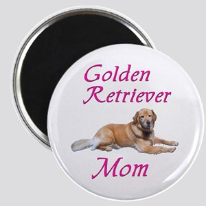 Golden Retriever Mom Magnet