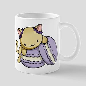 Macaron Kitty Mugs