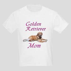 Golden Retriever Mom Kids Light T-Shirt