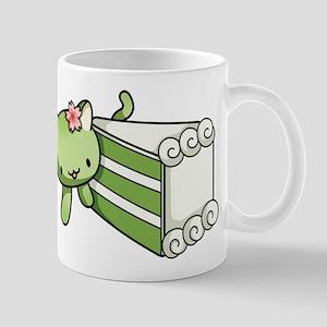 Gateau Matcha Kitty Mugs