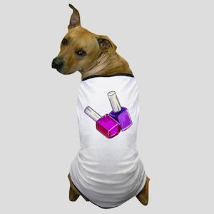 Nail Polish Dog T-Shirt