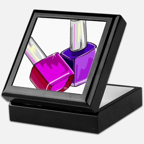 Nail Polish Keepsake Box
