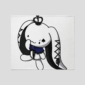 Princess of Spades Throw Blanket