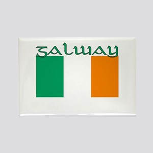 Galway, Ireland Flag Rectangle Magnet