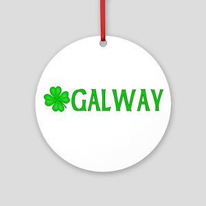 Galway, Ireland Ornament (Round)