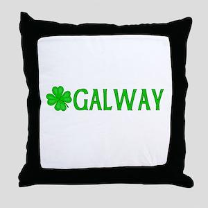 Galway, Ireland Throw Pillow