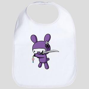 Ninja Bunny Bib