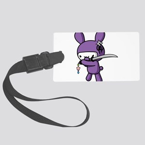 Ninja Bunny Luggage Tag