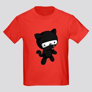 Ninja Kitty Kids Dark T-Shirt