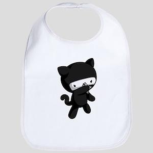 Ninja Kitty Bib