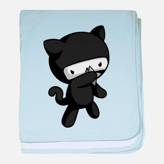 Ninja Kitty baby blanket