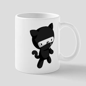 Ninja Kitty Mugs