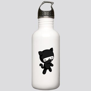 Ninja Kitty Water Bottle
