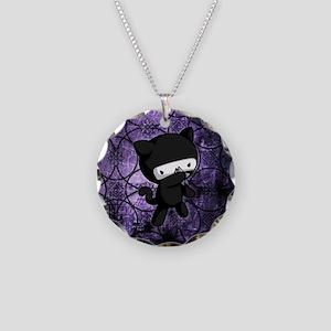 Ninja Kitty Necklace