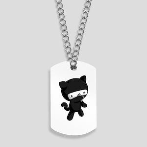 Ninja Kitty Dog Tags