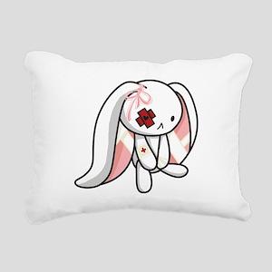 Broken Bunny Rectangular Canvas Pillow