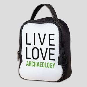 Live Love Archaeology Neoprene Lunch Bag