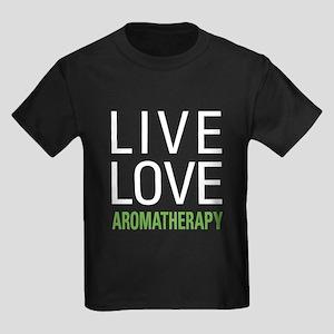 Live Love Aromatherapy Kids Dark T-Shirt