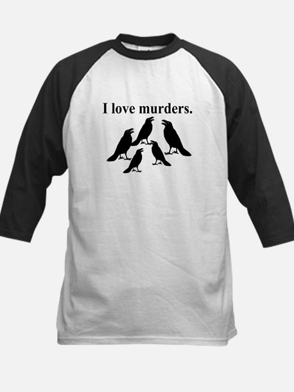I Love Murders Baseball Jersey