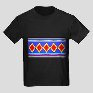 CREEK INDIAN TRIBE Kids Dark T-Shirt