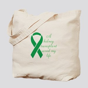 My Heart beats, Thanks To My Organ Donor Tote Bag