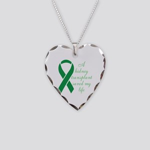 My Heart beats, Thanks To My Organ Donor Necklace
