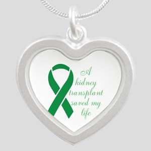 My Heart beats, Thanks To My Organ Donor Silver He