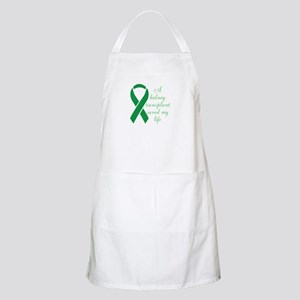 My Heart beats, Thanks To My Organ Donor Apron