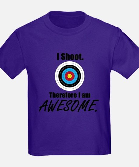 I Shoot Therefore Im Awesome T