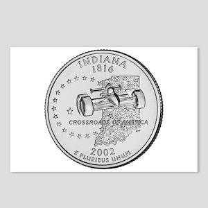 Indiana State Quarter Postcards (8)