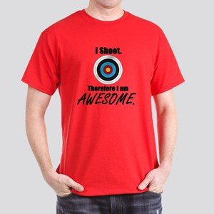 I Shoot Therefore Im Awesome Dark T-Shirt