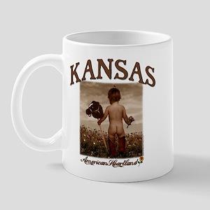 Kansas - Baby Boots Mug