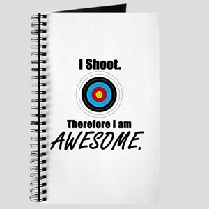 I Shoot Therefore Im Awesome Journal