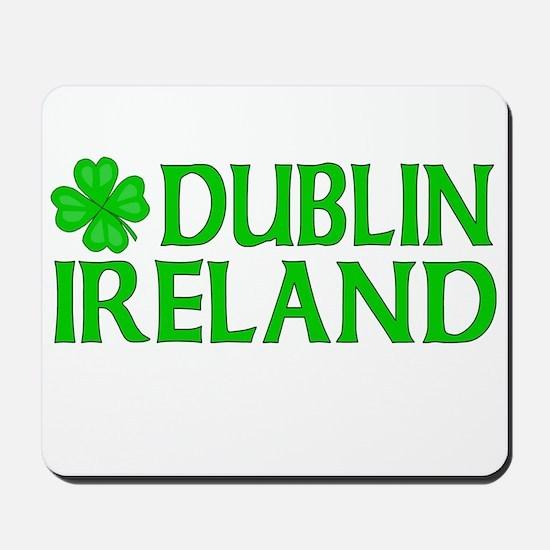 Dublin, Ireland Shamrock Mousepad