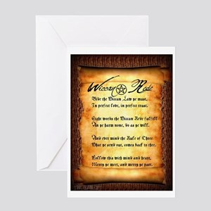 Wiccan Rede #1 Greeting Card