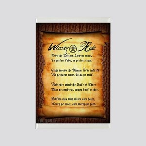 Wiccan Rede #1 Rectangle Magnet