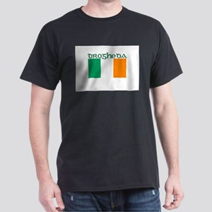 Drogheda, Ireland Flag Dark T-Shirt