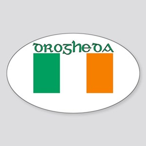 Drogheda, Ireland Flag Oval Sticker