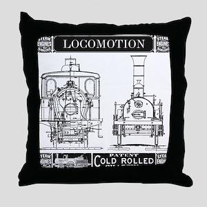 Locomotion Throw Pillow