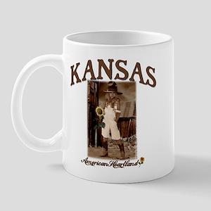Kansas - Lil' Cowgirl Mug