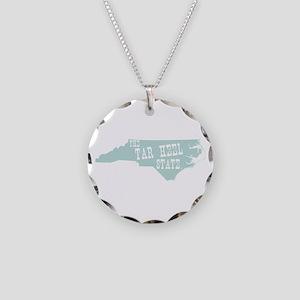 North Carolina Necklace Circle Charm