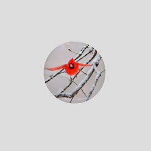 The Cardinal Mini Button
