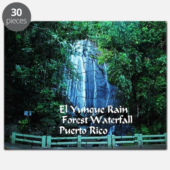 El Yunque waterfall Puzzle