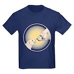 Polar Bear & Cub Kids Dark T-Shirt